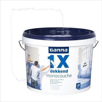 Monocouche GAMMA mat 10 L blanc