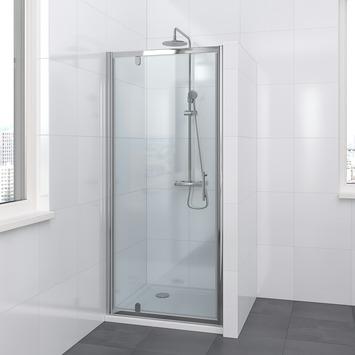 Lino draaideur 80x195 cm chroom