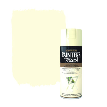 Rust-Oleum Painter's Touch spuitlak hoogglans antiek wit 400 ml