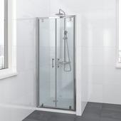 Lino pendeldeur 90x195 cm chroom