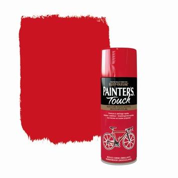 Rust-Oleum Painter's Touch spuitlak hoogglans kersenrood 400 ml