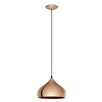 Eglo Vintage hanglamp Hapton E27 max 60 W exclusief lamp koper