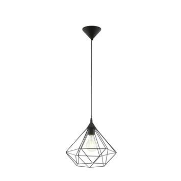 Eglo Vintage hanglamp Tarbes E27 max 60 W exclusief lamp 325mm zwart