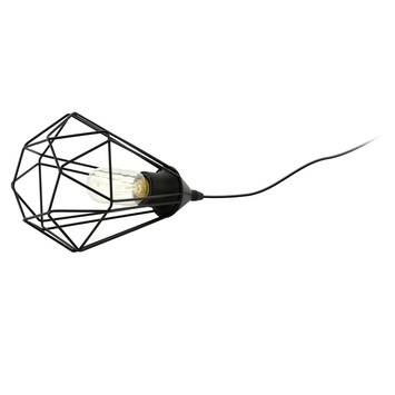 Eglo Vintage tafellamp Tarbes E27 max 60 W exclusief lamp 265 mm zwart
