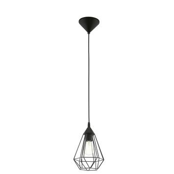 Eglo Vintage hanglamp Tarbes E27 max 60 W exclusief lamp 175mm zwart