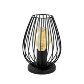 Lampe de table Newtown Eglo Vintage noir