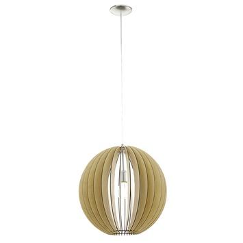 Eglo Vintage hanglamp Cossano E27 max 60 W exclusief lamp 500mm inox