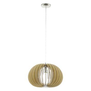 Eglo Vintage hanglamp Cossano E27 max 60 W exclusief lamp 450mm inox