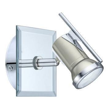Applique Tamara Eglo Batholino LED intégrée  3,3 W 240 lumens nickel