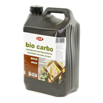 SAM Bio Carbonil beits bruin 5 l