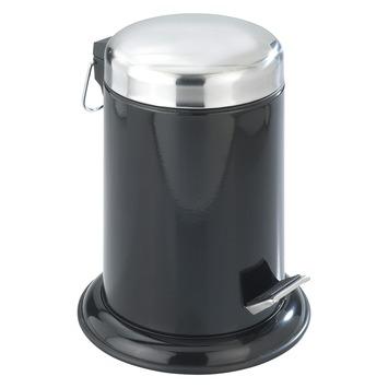 Pedaalemmer Retoro zwart inox