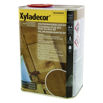 Xyladecor houtwormverdelger kleurloos 1 L