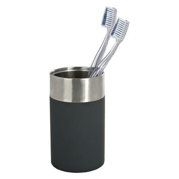 Wenko Creta tandenborstelbeker zwart