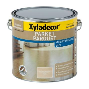 Xyladecor Trap & Parket vernis zijdeglans watergedragen kleurloos 2,5 L