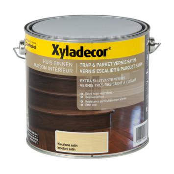Vernis Escalier & Parquet Xyladecor très résistant à l'usure satin incolore 2,5 L