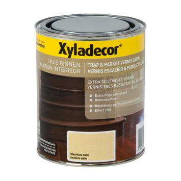 Vernis Escalier & Parquet Xyladecor très résistant à l'usure satin incolore 750 ml