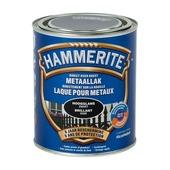 Laque pour métal Hammerite brillant noir 750 ml