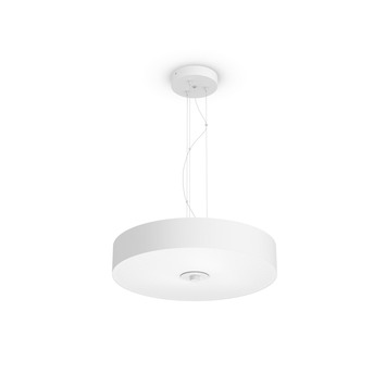 Suspension Philips Hue Fair avec LED intégrée 39 W 3000 Lm dimmable blanc