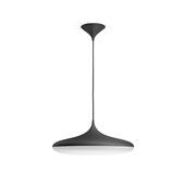 Philips hanglamp Hue Cher met geïntegreerde led 39 W 3000 Lm dimbaar zwart