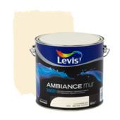 Levis Ambiance muurverf zijdeglans ivoorbeige 2,5 L