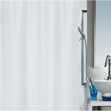 Rideau de douche Primo Spirella blanc 180x200 cm