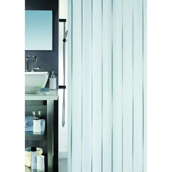 Spirella Vento douchegordijn zilver 180x200 cm