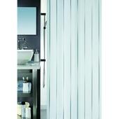 Rideau de douche Vento Spirella argent 180x200 cm