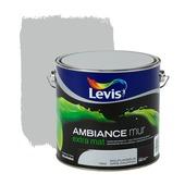 Levis Ambiance muurverf extra mat dolfijngrijs 2,5 L