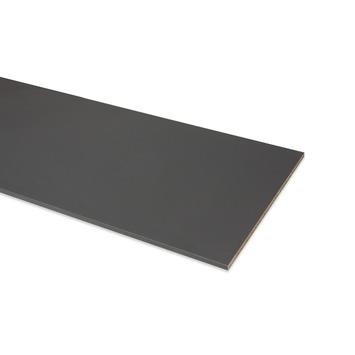 Meubelpaneel antraciet 2-zijdige abs afwerkband 240x60 cm 18 mm
