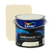 Levis Ambiance muurverf zijdeglans leem 2,5 L