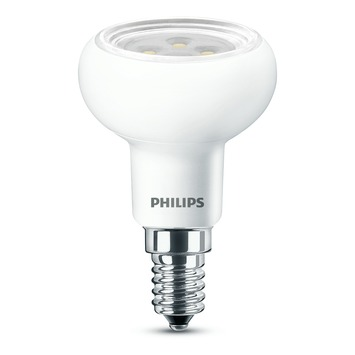 philips led reflector r50 e14 5w 60w 320 lumen dimbaar. Black Bedroom Furniture Sets. Home Design Ideas