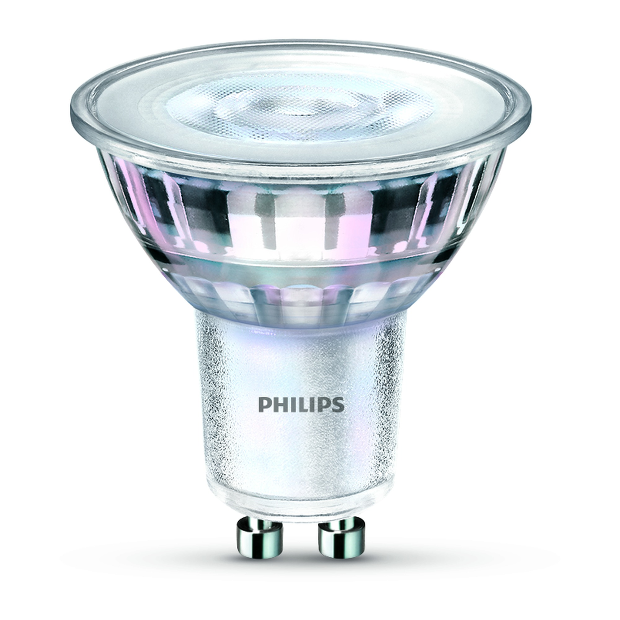 philips led spot gu10 5 5w 50w 345 lumen dimbaar warm. Black Bedroom Furniture Sets. Home Design Ideas