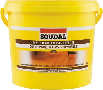 Soudal parketlijm MS polymeer 7 Kg