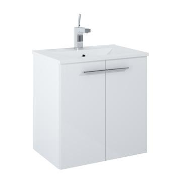 Meuble de salle de bains Cella blanc 60 cm