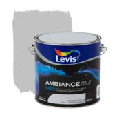 Levis Ambiance muurverf zijdeglans dolfijngrijs 2,5 L