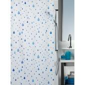 Rideau de douche Peva Spirella eau 180x200 cm