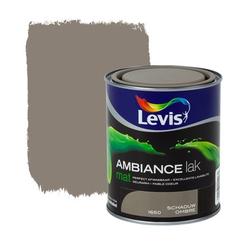 Laque Levis Ambiance mat 750 ml ombre