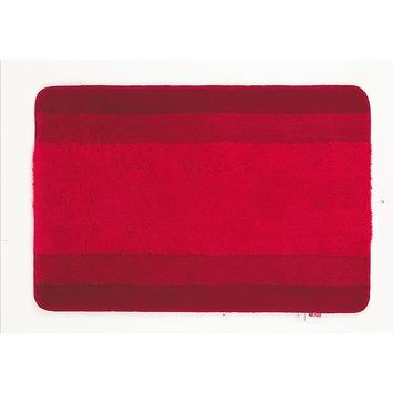 Spirella Balance badmat rood 70x120 cm