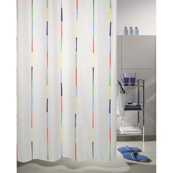 Rideau de douche Dario Spirella multicolor 180x200 cm