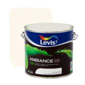 Levis Ambiance lak mat schelpwit 2,5 L
