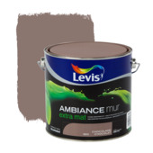 Levis Ambiance muurverf extra mat chocolade 2,5 L