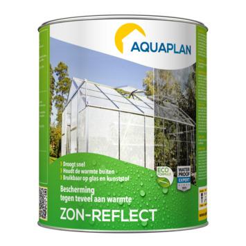 Aquaplan Zon-Reflect zonwerende verf voor serre 1 L