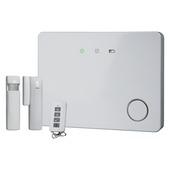 Système d'alarme sans fil Smartwares avec détecteur de mouvement, contact magnétique et télécommande