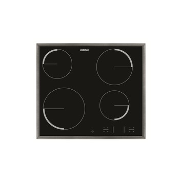 Plan de cuisson vitrocéramique ZEV6340XBA Zanussi 57 cm 4 zones