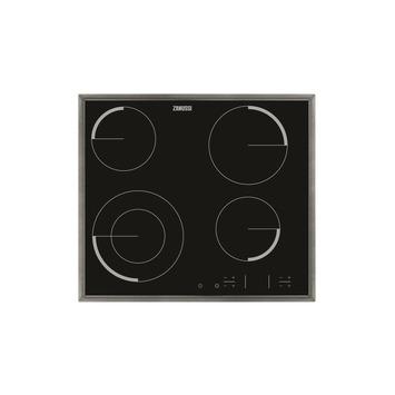 Plan de cuisson vitrocéramique ZEV6341XBA Zanussi 57 cm 4 zones