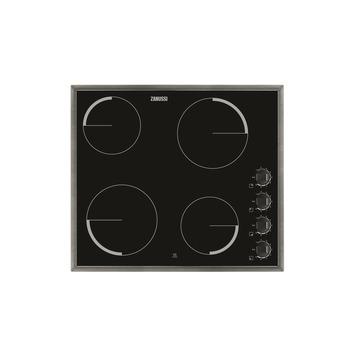 Zanussi vitrokeramische kookplaat ZEV6140XBV 57 cm 4 kookzones