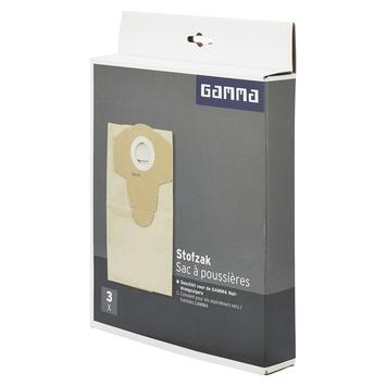 Sacs à poussière GAMMA pour aspirateur universel GAMMA 3 pièces