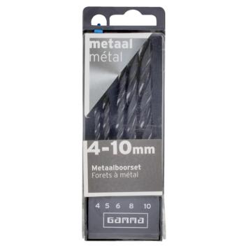 Jeu de forets à métaux GAMMA 5 pièces