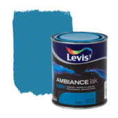 Levis Ambiance lak zijdeglans azura blauw 750 ml