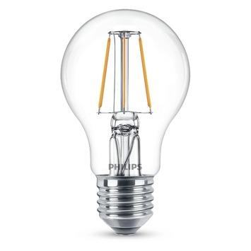 Ampoule poire LED à filament Philips E27 4 W = 40 W 407 lumens duopack
